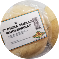7 Inch Whole Wheat Pizza Shells